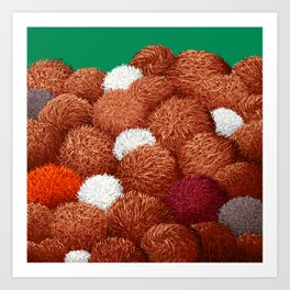 No Tribble At All Art Print