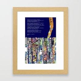 Jx3 Poem - 2 Framed Art Print