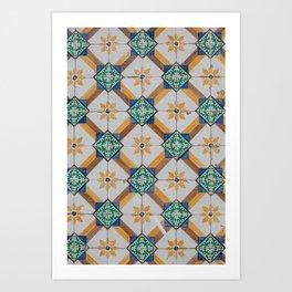 Portuguese Tile Art Print