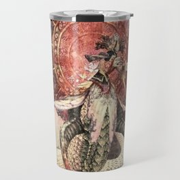 Beakyung the white viper - Jangan cave silkroad Travel Mug