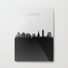 City Skylines: Cleveland (Alternative) Metal Print