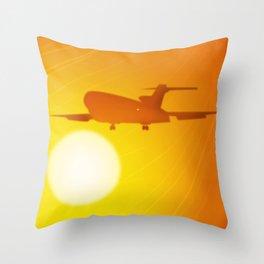 The Golden Goddesses  Throw Pillow