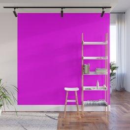 RGB Magenta lavender lilac mauve periwinkle plum violet color Wall Mural