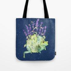 Flora Toad Tote Bag