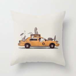 1-800-TAXIDERMY Throw Pillow