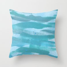 Seascape Pattern no III Throw Pillow