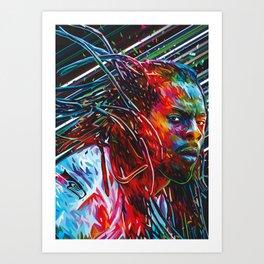 Richard Sherman Art Print
