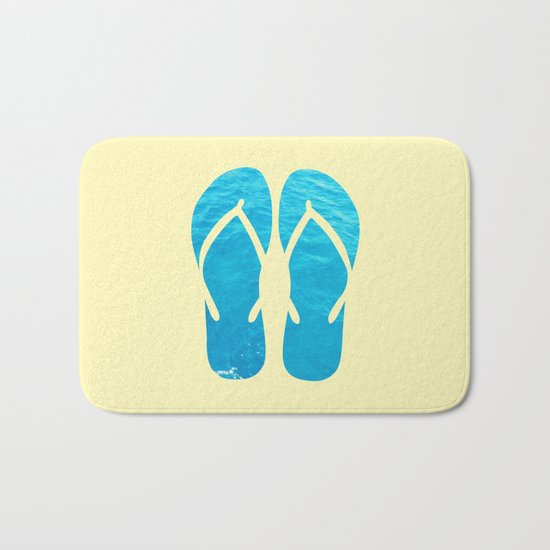 FLIP FLOP SUMMER Bath Mat