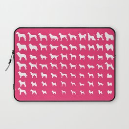 All Dogs (Pink) Laptop Sleeve
