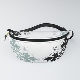 Portugese Leaf Pattern Fanny Pack