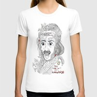 einstein T-shirts featuring Einstein by Ina Spasova puzzle
