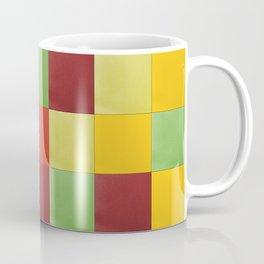 Tropical fruit felt tiles Coffee Mug