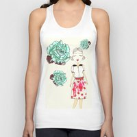 boba Tank Tops featuring Boba by causemepain