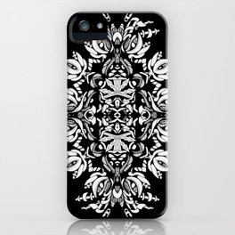 Abstract Flora iPhone Case