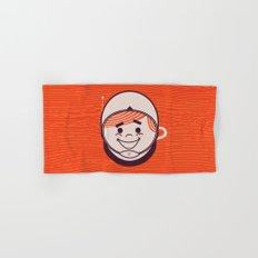 Retro Space Guy Hand & Bath Towel