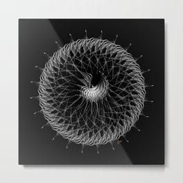 Intergalactic Spore Metal Print