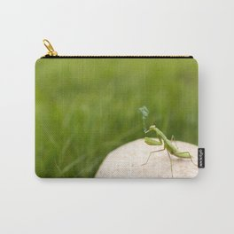 Smoking Praying Mantis Carry-All Pouch