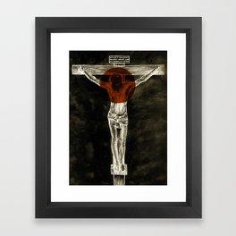 Behold the Lamb of God Framed Art Print