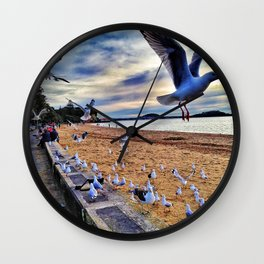Mission Bay, Auckland Wall Clock