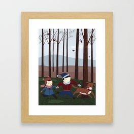 In the forest 1 Framed Art Print