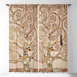 Gustav Klimt - Lebensbaum Blackout Curtain