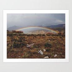 Rainbones Art Print