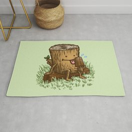 The Popsicle Log Rug