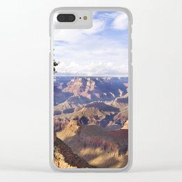 Panoramic view of the Grand Canyon Clear iPhone Case