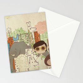 The Big City Stationery Cards