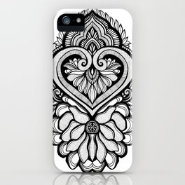 Sacred Flora iPhone Case