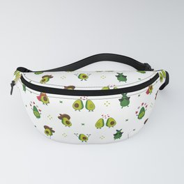 Avocado Pattern - holy guacamole collection Fanny Pack