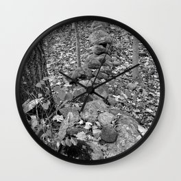 Wall in the Woods Wall Clock