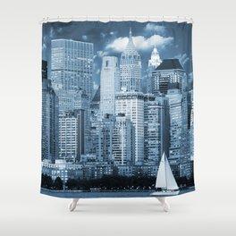 Manhattan (New York, NY, USA) Shower Curtain