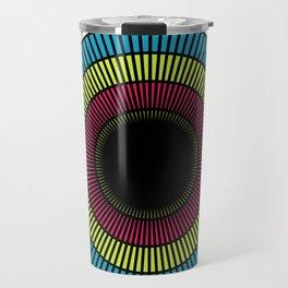 Colorful illusions Travel Mug