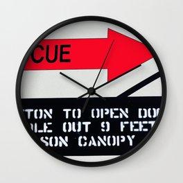 RESCUE Wall Clock