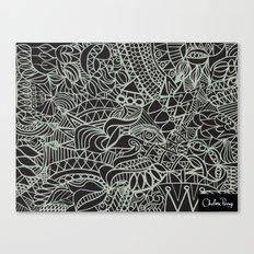 Lux Tux Canvas Print