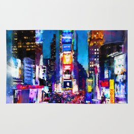 New York at Night Rug