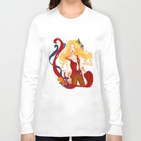 enjolras Long Sleeve T-shirts featuring Enjolras by thenonsensicalcephalopod
