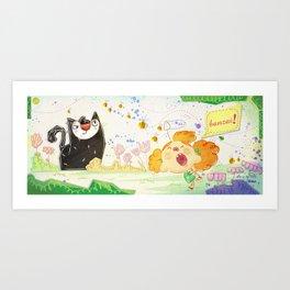 Banzai Art Print