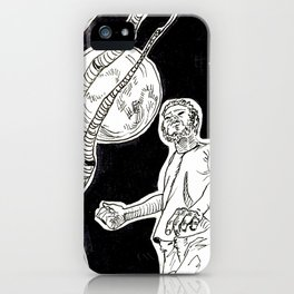 The hitchhiker  werewolf iPhone Case
