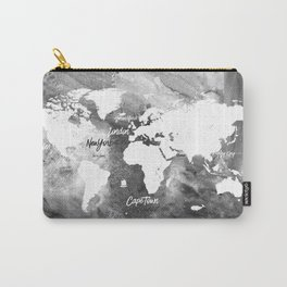 The world's most beautiful ports, map Carry-All Pouch