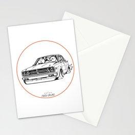 Crazy Car Art 0222 Stationery Cards