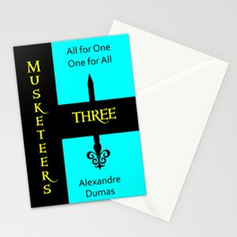 The Three Musketeers Stationery Cards