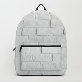 White Brick Wall - Photography Backpack