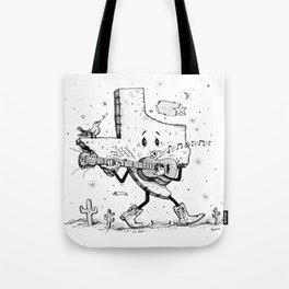 Texas Music Tote Bag