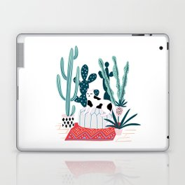 Cat and cacti Laptop & iPad Skin
