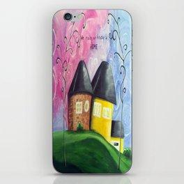 House A Home iPhone Skin