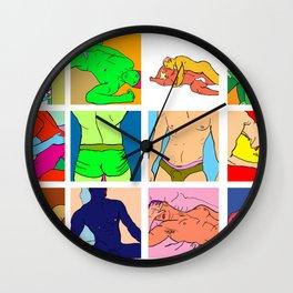 Pop Men VI Wall Clock