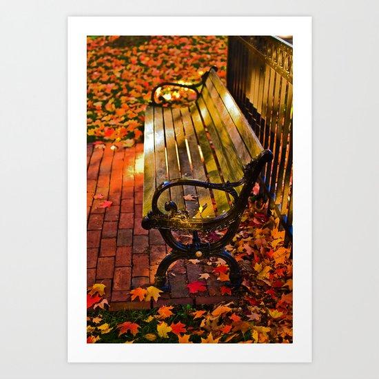 Autumn fever  Art Print