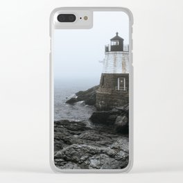 Castle Hill Lighthouse, Rhode Island Clear iPhone Case